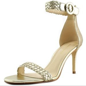🆕 Marc Fisher Gold Sandals